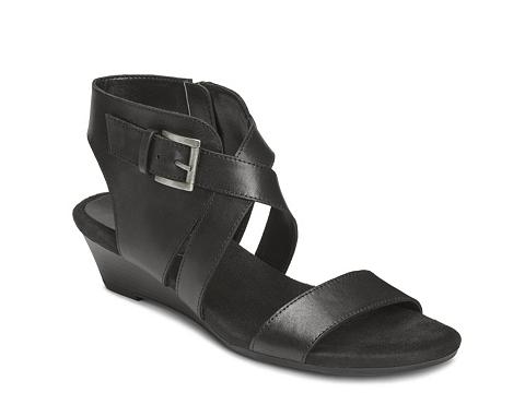 Incaltaminte Femei Aerosoles Propryetor Wedge Sandal Black
