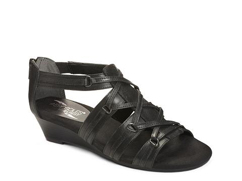Incaltaminte Femei Aerosoles Yetiquette Wedge Sandal Black