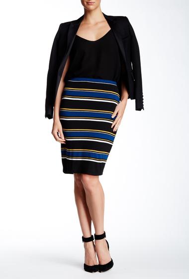 Imbracaminte Femei Max Studio Stripe Pencil Skirt BKBLWDSP