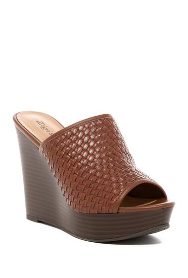 Incaltaminte Femei ZiGiny Lillia Platform Wedge Sandal COFFEE FAU