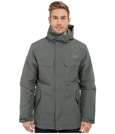 Imbracaminte Barbati The North Face Grays Harbor Insulated Parka Spruce Green Tweed