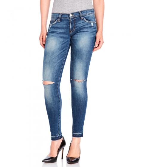 Imbracaminte Femei Flying Monkey Distressed Skinny Jeans Medium Rinse