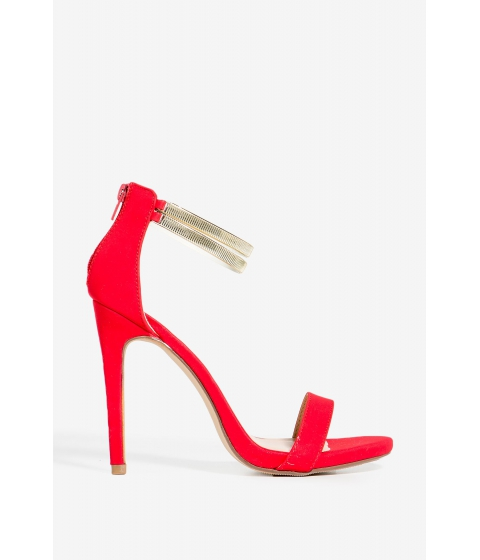 Incaltaminte Femei CheapChic Momo-2 Chain Your Love Heel Red
