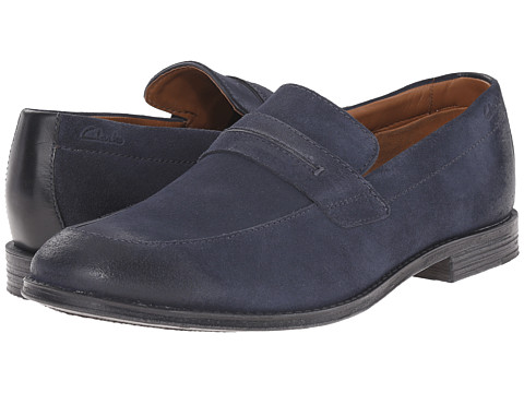 Incaltaminte Barbati Clarks Hawkley Free Blue Combination