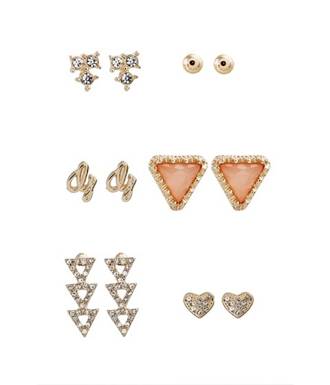 Bijuterii Femei GUESS Gold-Tone 6-Piece Stud Earrings Set gold