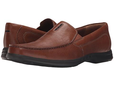 Incaltaminte Barbati Clarks UnEasley Twin Tan Leather