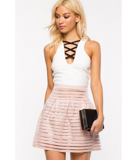 Imbracaminte Femei CheapChic My Girl Flare Skirt Mauve