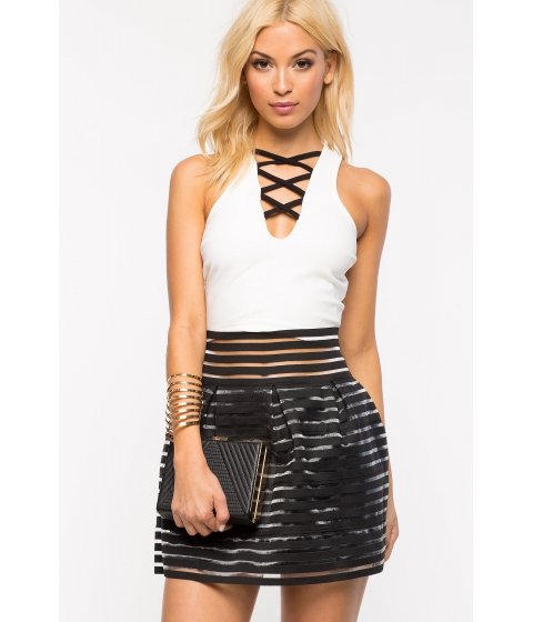 Imbracaminte Femei CheapChic My Girl Flare Skirt Black