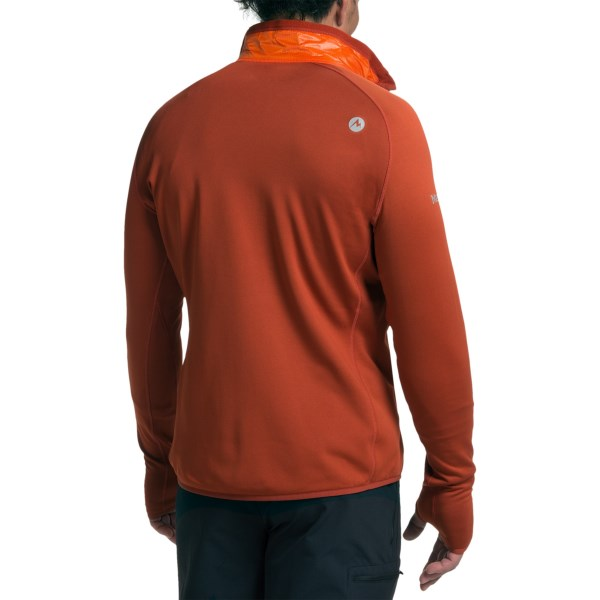 Imbracaminte Barbati Marmot Variant Polartec Power Stretch Jacket - Insulated SUNSET ORANGEDARK RUST (04)
