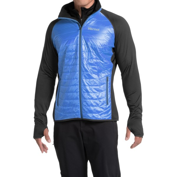 Imbracaminte Barbati Marmot Variant Polartec Power Stretch Jacket - Insulated PEAK BLUEBLACK (01)