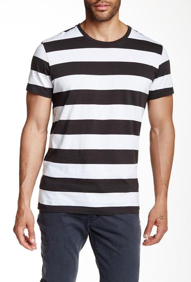 Imbracaminte Barbati Neuw Service Stripe Tee Black-White Stripe