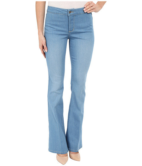 Imbracaminte Femei NYDJ Farrah Flare Jeans in Palm Bay Crease Palm Bay Crease