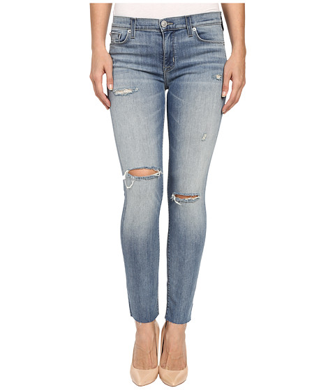 Imbracaminte Femei Hudson Shine Mid-Rise Ankle Skinny Raw Hem in Rescue Mission Rescue Mission