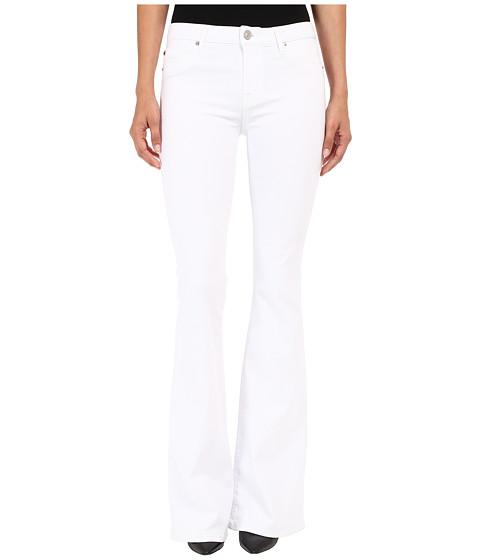 Imbracaminte Femei Hudson Mia Five-Pocket Mid-Rise Flare in White 2 White 2