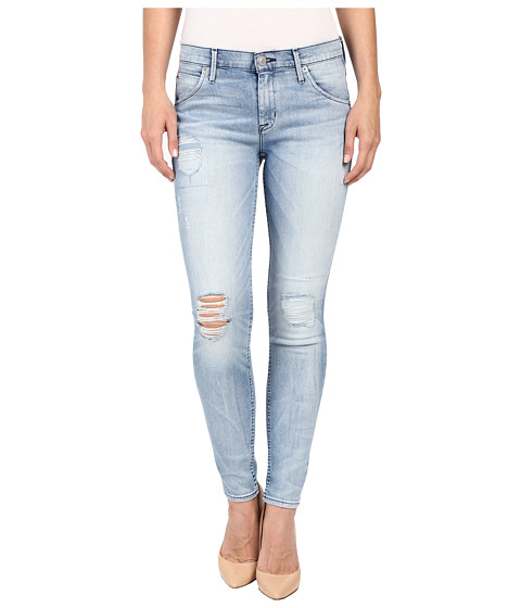 Imbracaminte Femei Hudson Lilly Mid-Rise Ankle Skinny with Distress in Rialto Rialto