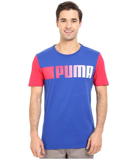 Imbracaminte Barbati PUMA Running Logo Tee Surf The Web