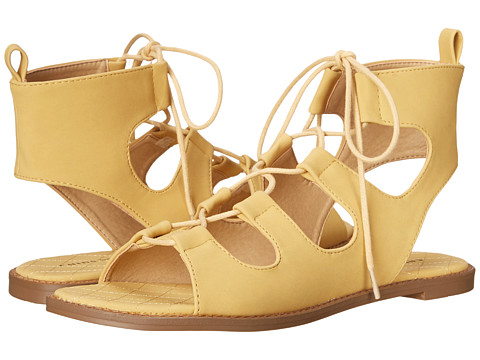 Incaltaminte Femei Chinese Laundry Guess Who Yellow Nubuck
