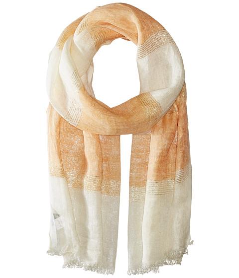 Accesorii Femei Echo Design Lurex Stripe Wrap Scarf Ripe Mango