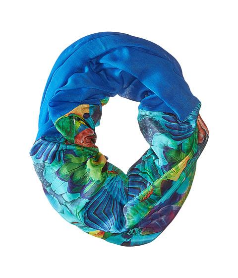 Accesorii Femei Echo Design Parrot Feathers Tubular Wrap Amazon Blue