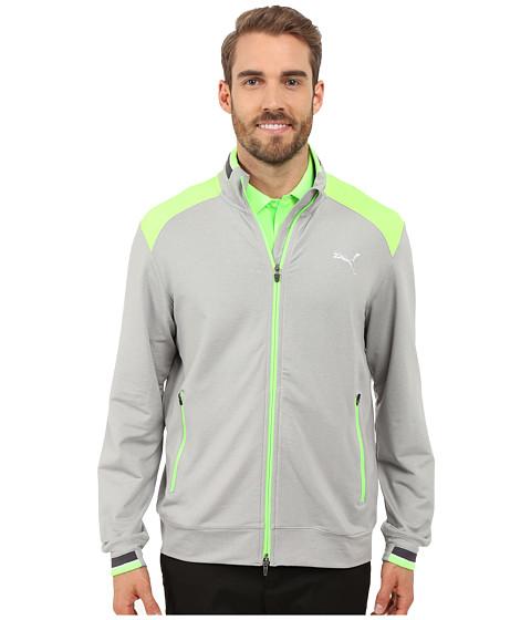 Imbracaminte Barbati PUMA Golf Track Jacket Light Grey Heather