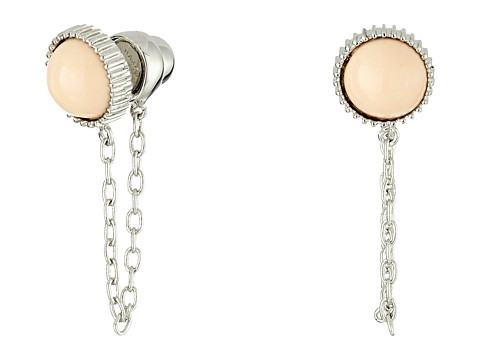 Bijuterii Femei Marc by Marc Jacobs Cabochon Chain Stud Earrings Blush