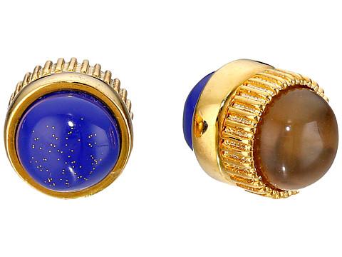 Bijuterii Femei Marc by Marc Jacobs Cabochon Magnetic Stud Earrings Lapis Multi