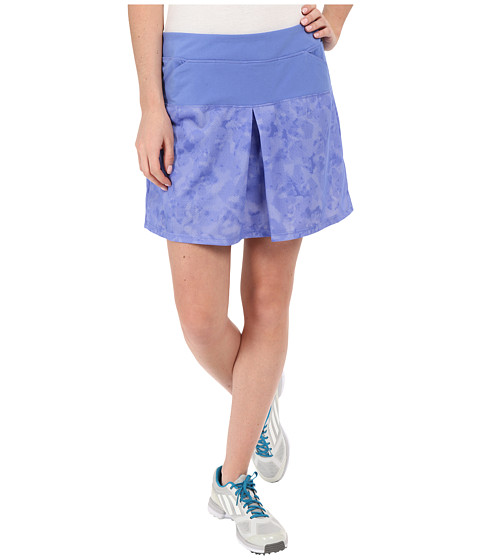 Imbracaminte Femei adidas Tour Mixed Print Pull On Skort Baja Blue