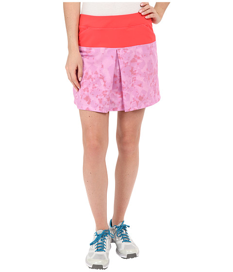 Imbracaminte Femei adidas Tour Mixed Print Pull On Skort Shock Red