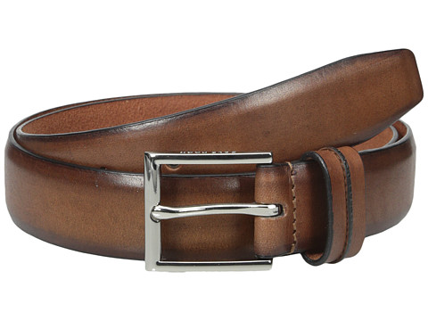 Accesorii Barbati Cole Haan 32mm Burnished Leather Harness Buckle Belt Tan