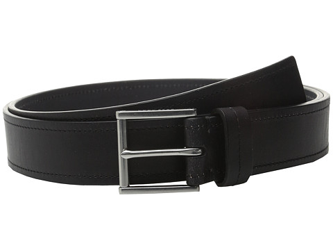 Accesorii Barbati Cole Haan 35mm Flat Strap with Stitch and Burnishing Belt Black