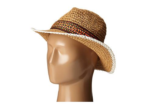Accesorii Femei Echo Design Crocheted Straw Hat Light Straw
