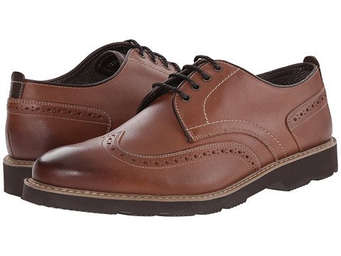 Incaltaminte Barbati Florsheim Casey Wingtip Oxford Cognac Smooth