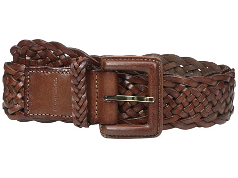 Accesorii Femei Cole Haan 40mm Braided Veg Leather Belt with Covered Harness Buckle Woodbury