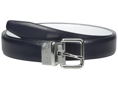 Accesorii Femei Cole Haan 1quot Reversible Dress Calf Belt BlueWhite