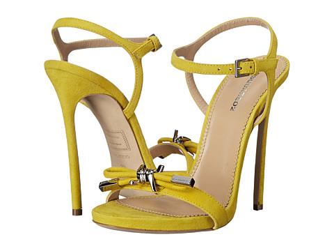 Incaltaminte Femei DSQUARED2 Sandal Giallo Camoscio
