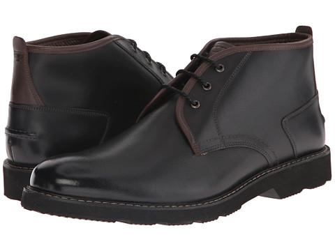 Incaltaminte Barbati Florsheim Casey Chukka Boot Black Smooth