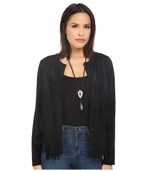 Imbracaminte Femei kensie Soft Faux Suede Jacket KS2K2176 Black