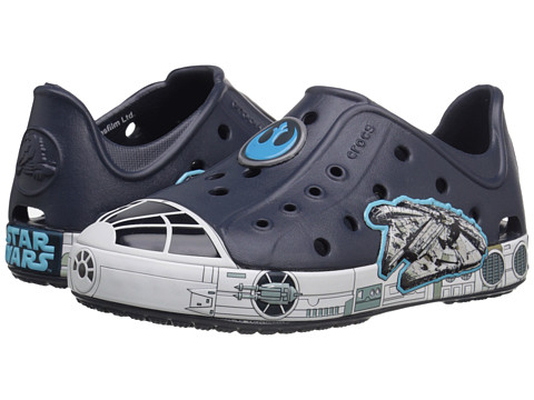 Incaltaminte Baieti Crocs Bump It Star Wars Millennium Falcon Shoe (ToddlerLittle Kid) Navy