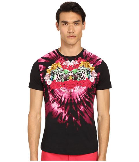 Imbracaminte Barbati Versace Psychadelic Tie-Dye T-Shirt Black