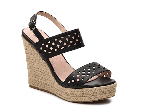 Incaltaminte Femei GC Shoes Katie Wedge Sandal Black