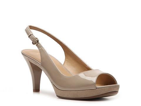 Incaltaminte Femei Nine West Karoo Patent Sandal Nude