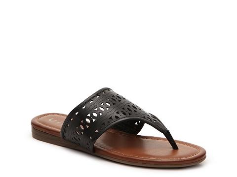 Incaltaminte Femei Unisa Lyley Flat Sandal Black