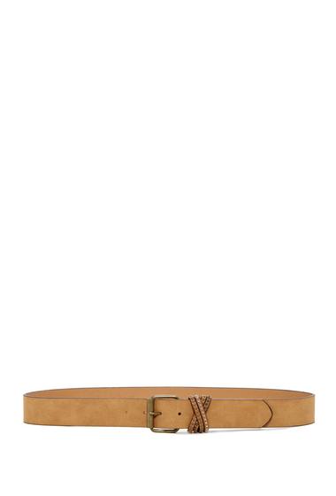 Accesorii Femei Linea Pelle Studded Keeper Belt TAN