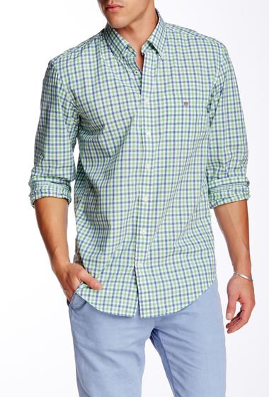 Imbracaminte Barbati Gant Rugger L Bel Air Tattersall Long Sleeve Regular Fit Shirt FAIRWAY GREEN