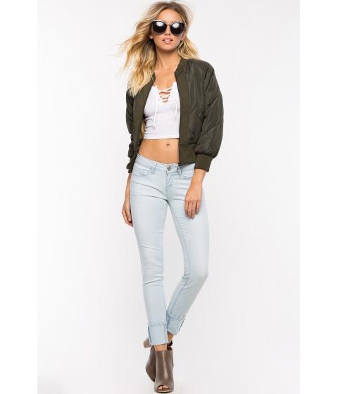 Imbracaminte Femei CheapChic Luxe Skinny Cut Leg Jeans Lt Wash Denim
