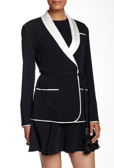 Imbracaminte Femei Rachel Zoe Valentine Blazer Jacket BLACK-ECRU