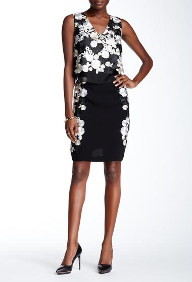 Imbracaminte Femei Diane Von Furstenberg Hillaria Embroidered Skirt BLACK-IVORY MULTI