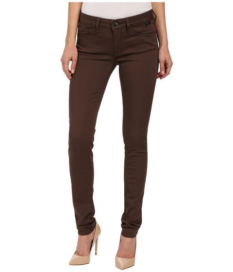 Imbracaminte Femei Mavi Jeans Alexa in Chocolate Brown Gold Sateen Chocolate Brown Gold Sateen