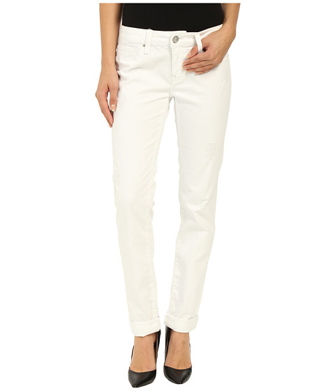 Imbracaminte Femei Mavi Jeans Emma in White Ripped Tribeca White Ripped Tribeca