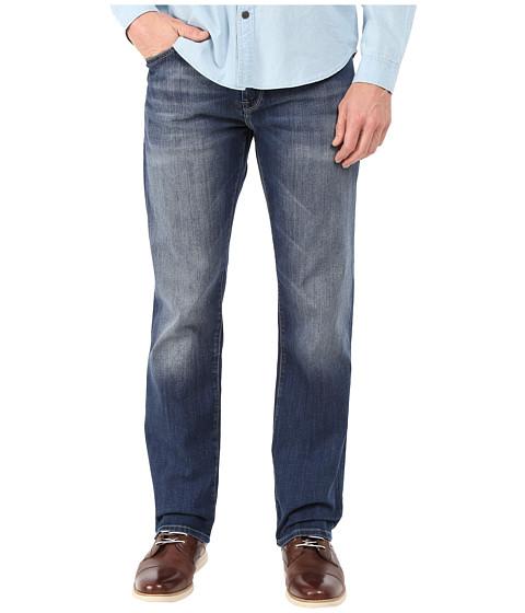 Imbracaminte Barbati Mavi Jeans Zach Regular Rise Straight in Mid Indigo Cooper Mid Indigo Cooper